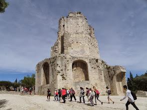 Photo: 1. den - A teď hurá na osmibokou věž! (Tour Magne, Nîmes)
