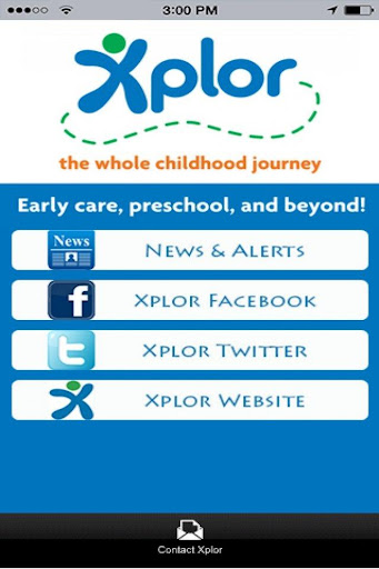 Xplor Childcare App
