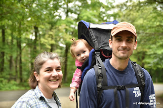 Photo: Look at the smiles on this happy family hiking in Woodford State Park by Bill Steele
