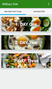 Tracker Weight Loss ★Military Diet★ 7