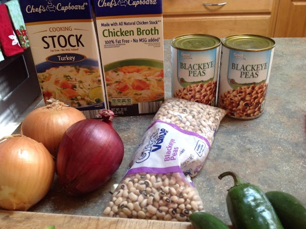 These are some of the ingredients I used to create the soup. I did...