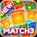 Gummy Caramel Fruits: Match 3 Addiction icon