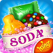 13.  Candy Crush Soda Saga