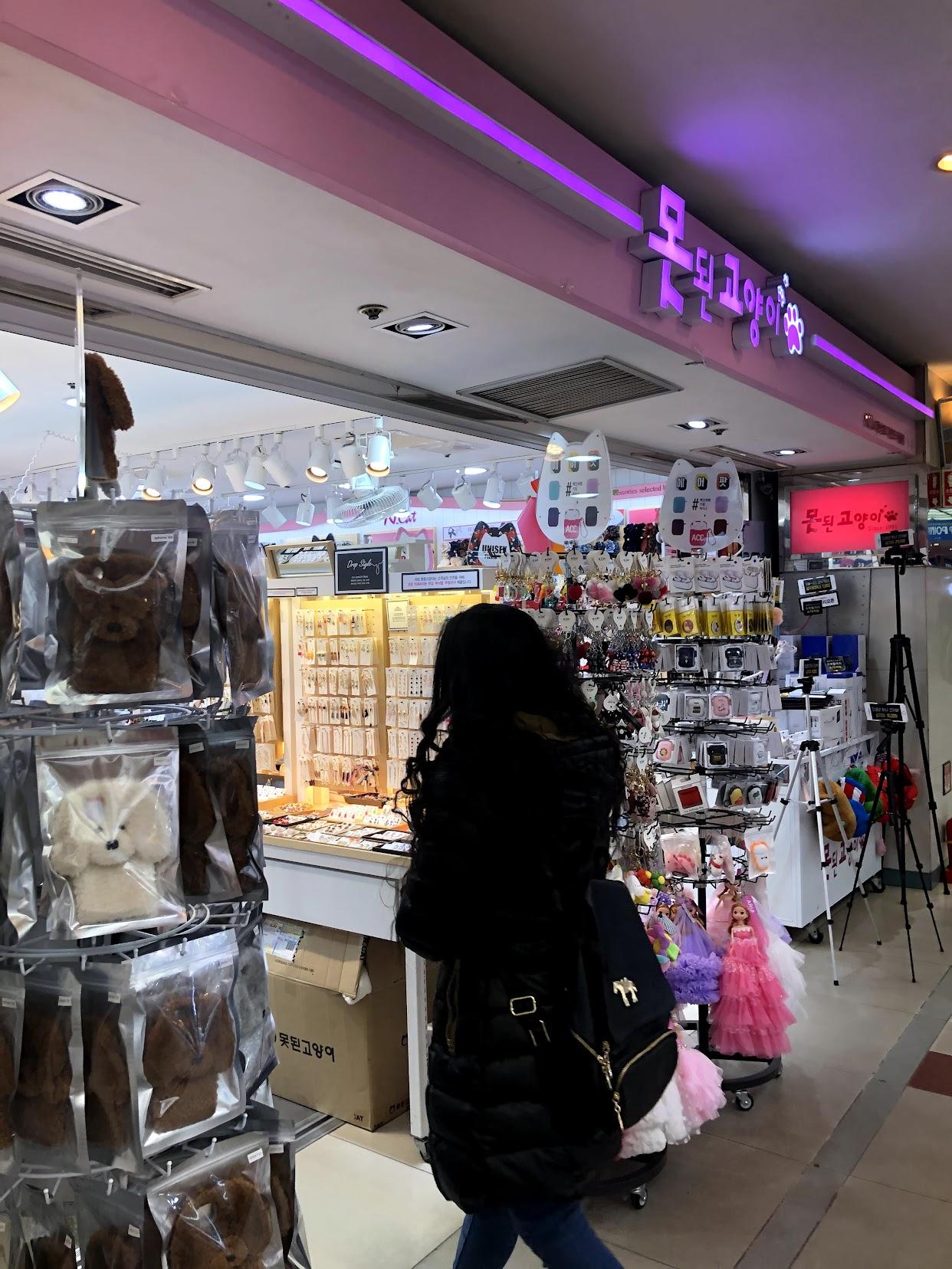 韓国にはニッケルフリーピアスがたくさん