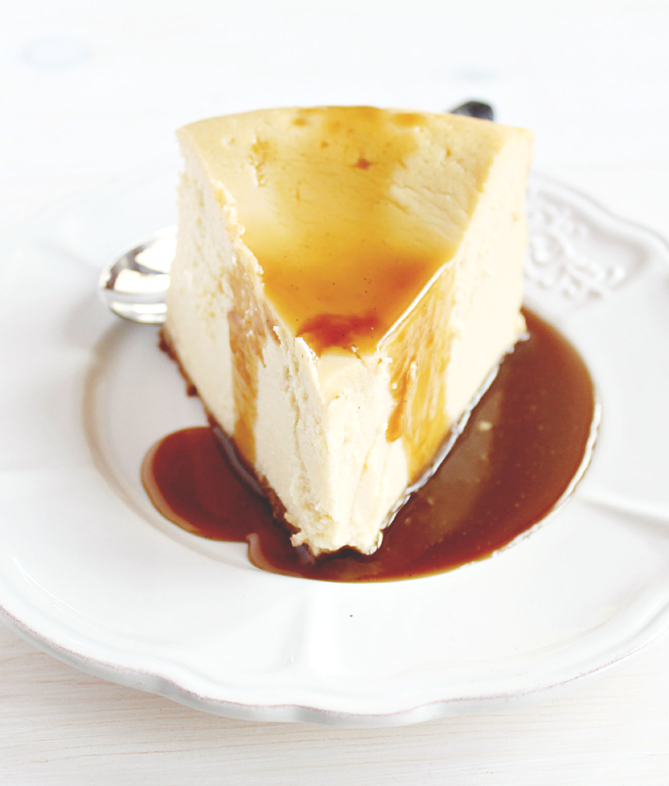 Skinny Brown Sugar Vanilla Cheesecake