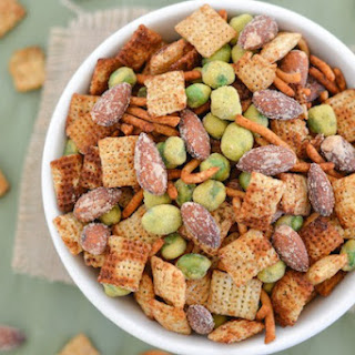 Ginger Wasabi Snack Mix
