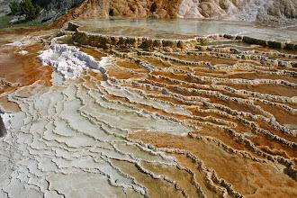 Photo: Mammoth Hot Springs - Yellowstone National Park, Wyoming