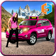 New York Taxi Duty Driver: Pink Taxi Games 2018