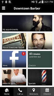 myBARBERapp- screenshot thumbnail