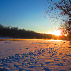 Melt away the cold by Michelle Kelly - Novices Only Landscapes (  )