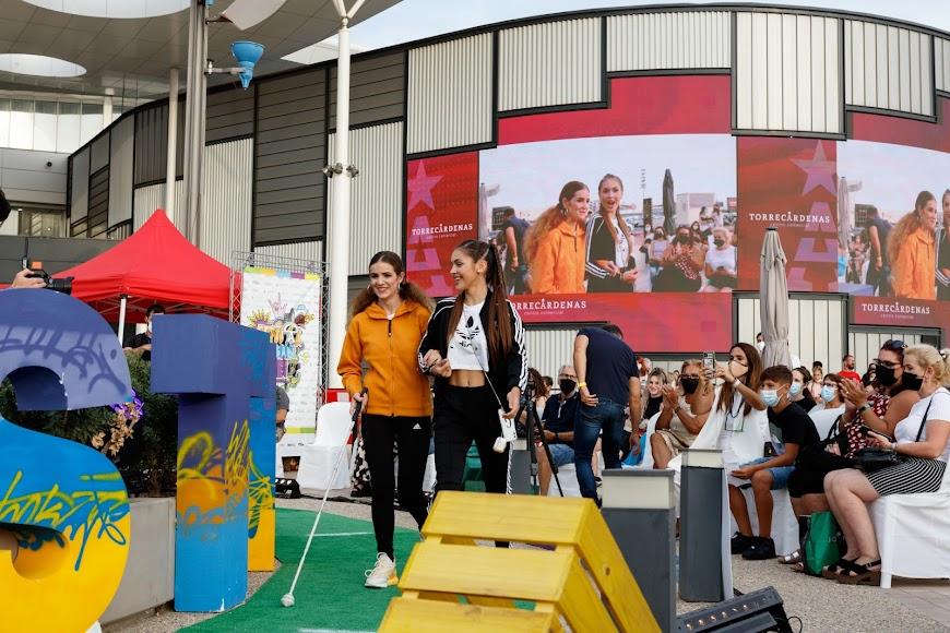 La naturalidad y la diversión fueron los principales ingredientes de un proyecto de Navarro Pasarela en el que colabora la ONCE y Asalsido.