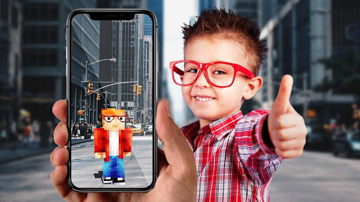 AR Minecraft skins Visualiser in Augmented Reality 8 screenshots 1
