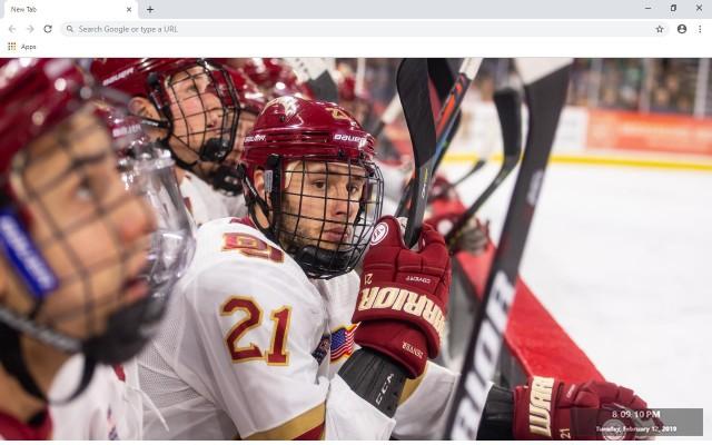 Hockey Nations 18 New Tab Theme