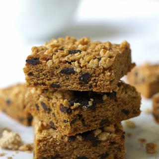 Healthier Granola Blondies with Chocolate Chunks Recipe