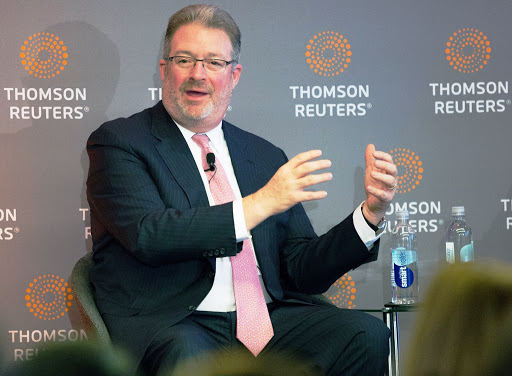 Thomson Reuters backs CEO after reports it's looking for a successor