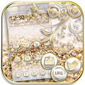 Silver Gold Theme Wallpaper luxury gold icon