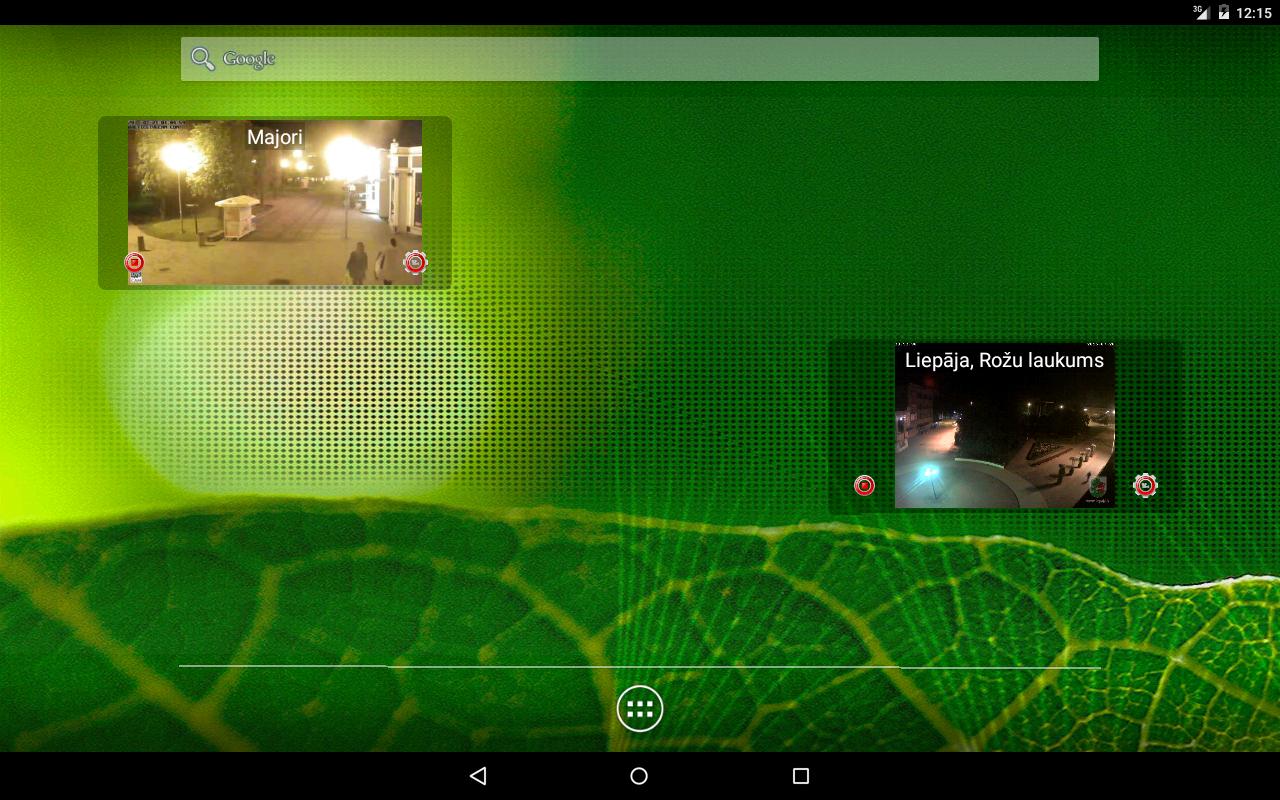 Latvijas vebkameras- screenshot