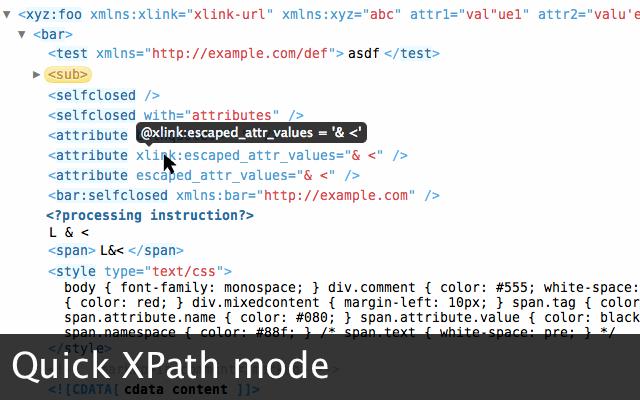 xv xml viewer chrome web store