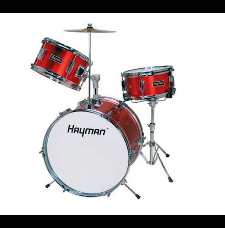 Hayman Barntrumset - HM33 MR - Metallic Red