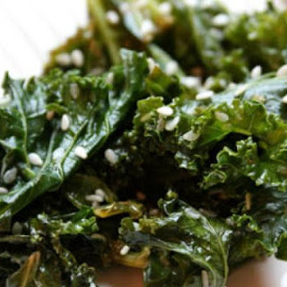 Sesame Kale Salad from Enterprise Farm.