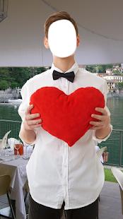 Romantic Men Photo Editor - náhled