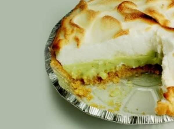 Avocado Meringue Pie