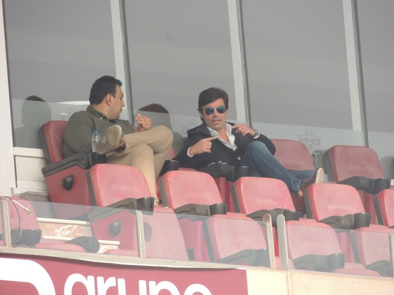 Mohamed Adel y Mario Silva.