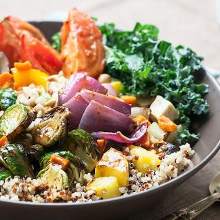 Roasted Vegetable Buddha Bowl.