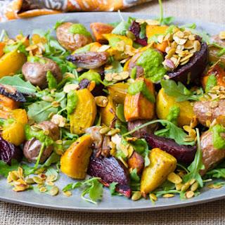 Roasted Root Vegetables Salad