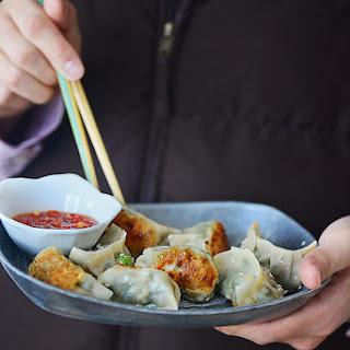Pork Dumplings with Garlic Chives
