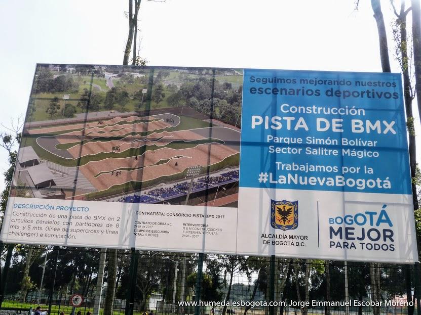 Pista BMX Humedal El Salitre