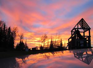 Photo: Fabulous sunset at Wawaitin Holiday Park