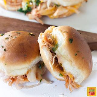 BBQ Chicken Pull Apart Sliders Recipe
