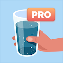Water tracker PRO. Drink water reminder. Hydration icon