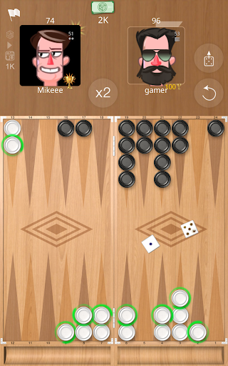 Backgammon Online 1.2.2 screenshots 6