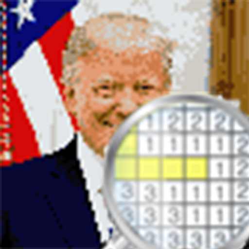 Color By Number The President Pixel Art Applications Sur