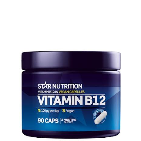 Star Nutrition Vitamin B12 - 90 caps