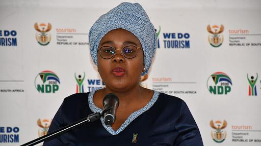Minister of tourism Mmamoloko Kubayi-Ngubane.