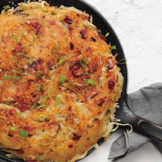 Rosti with Bacon and Scallions.