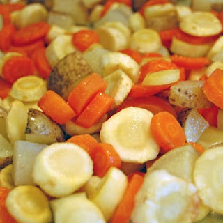 Carrots, Parsnips and Potatoes Recipe