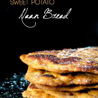 Sweet Potato Naan (Vegan, Whole grain).