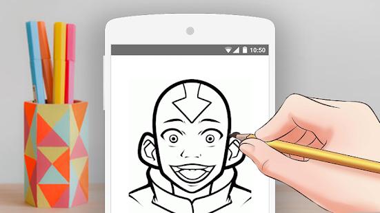 how to draw aang avatar screenshot thumbnail