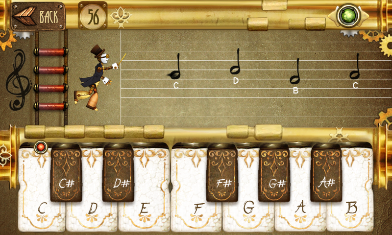 Note Fighter- screenshot