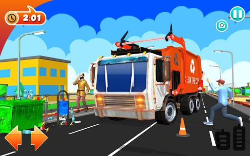Urban Garbage Truck Driving - Waste Transporter 1 screenshots 14