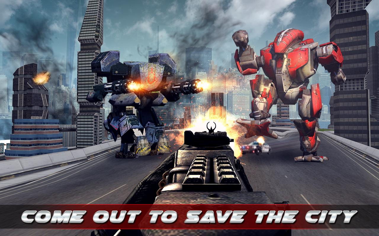 Terminate The Robots- screenshot