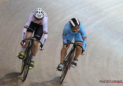Encore une médaille pour la Belgique, grâce au cyclisme sur piste
