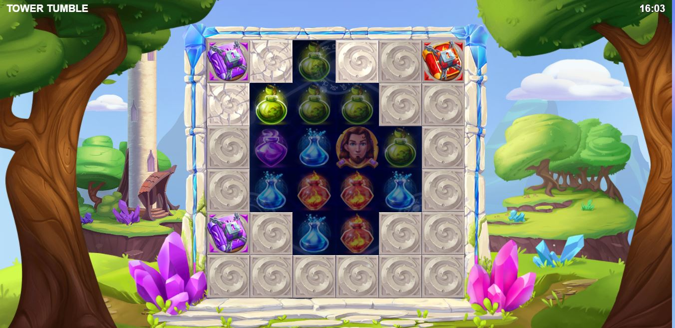 Play Tower Tumble 2 by Relax Gaming for Real Money at Scatters Casino