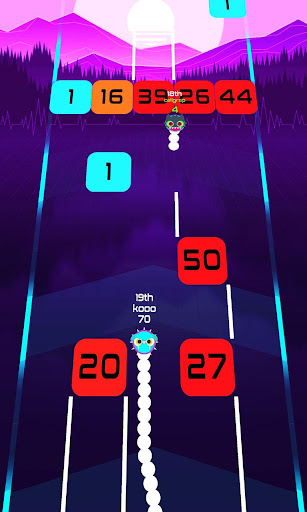 Snake Breakout: Fun PvP Battle Arcade Racing Games android2mod screenshots 18
