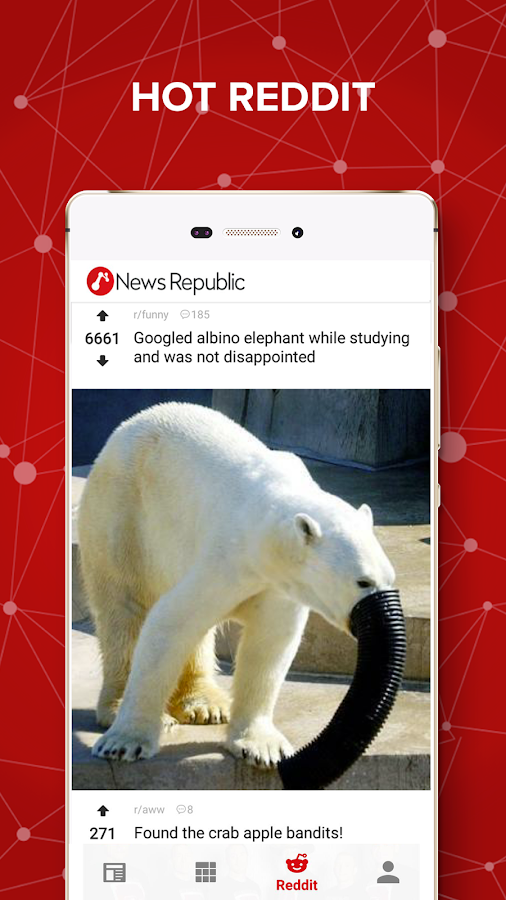 Screenshots of News Republic – Breaking news for iPhone