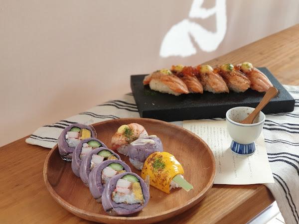 療癒的芋頭壽司還有超可愛壽司串可以邊散步邊吃-本寓食堂   中西區、北區、平價美食